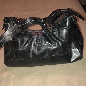 Dooney and Bourke black leather purse
